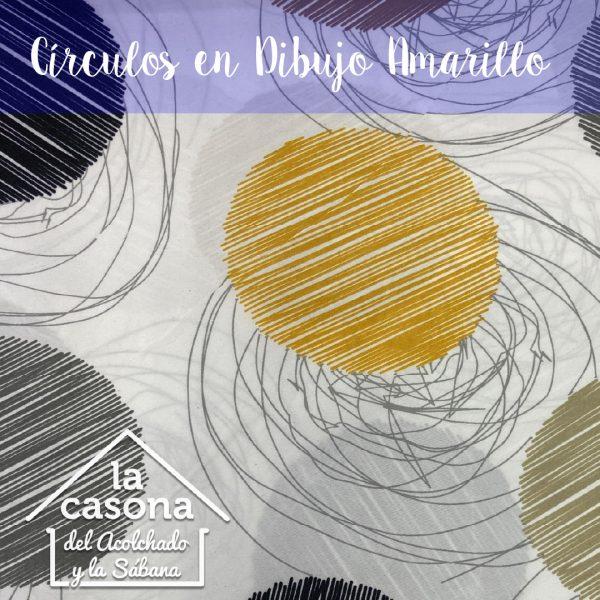 círculos en dibujo amarillo-100