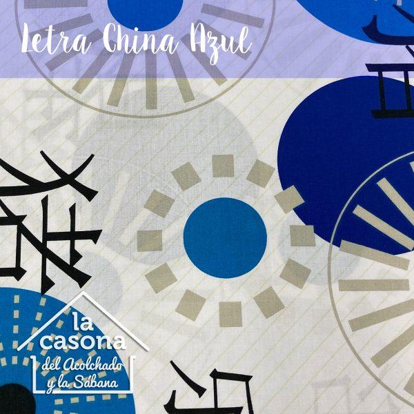 letra china azul