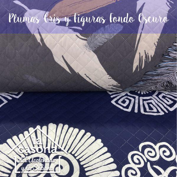 plumas gris y figuras fondo oscuro-100