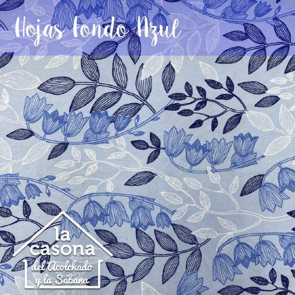 hojas fondo azul-100