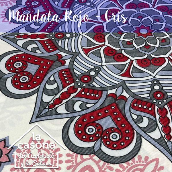 enfoque-tela-polialgodón-con-diseños-de-mandalas-en-color-rojo-y-gris