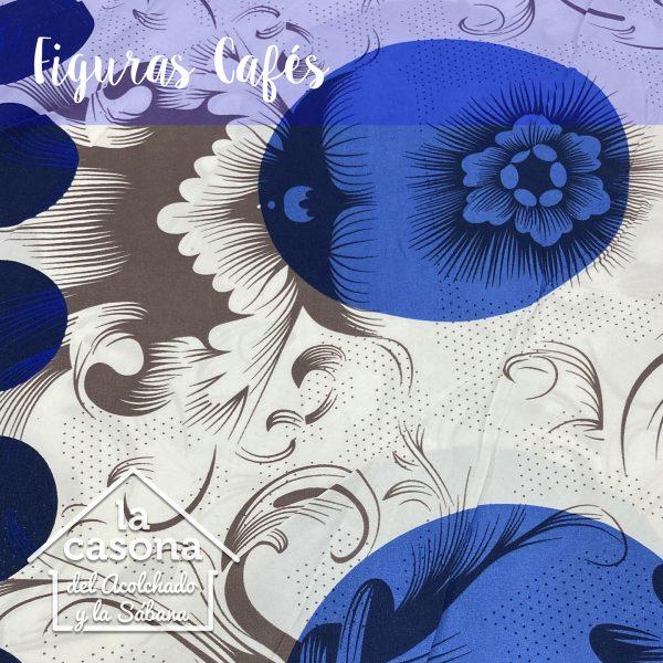 enfoque-tela-polialgodon-con-diseños-azules-y-cafes