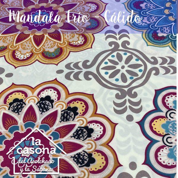 enfoque-tela-polialgodón-con-diseños-combinado-de-mandalas-en-colores-cálidos-y-fríos