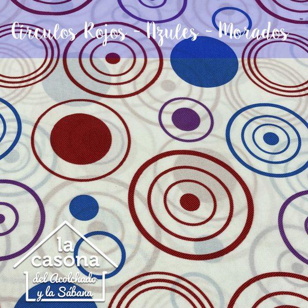 enfoque-tela-polialgodón-con-diseños-de-circulos-en-color-azul-y-rojo-en-fondo-blanco