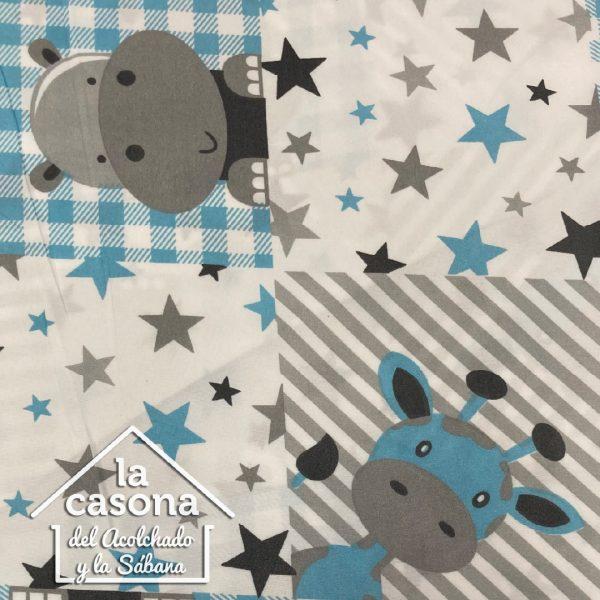 enfoque diseño azul estrellas