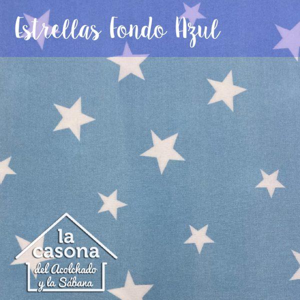 estrellas fondo azul