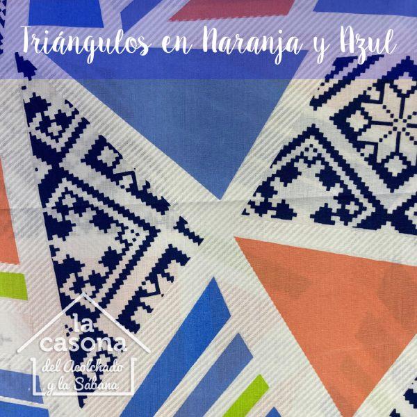 triangulos en naranja y azul-100